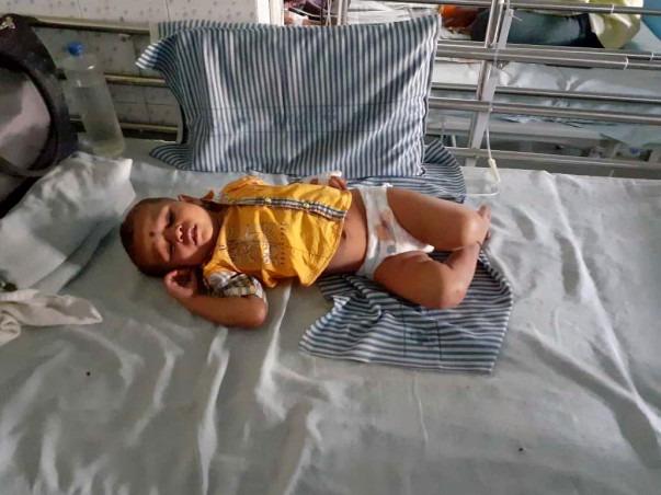 Help 1-year-old Shivrudra Fight Cancer