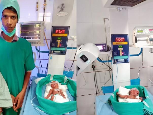 Help Ashok and Sheela Save their  Premature Twins