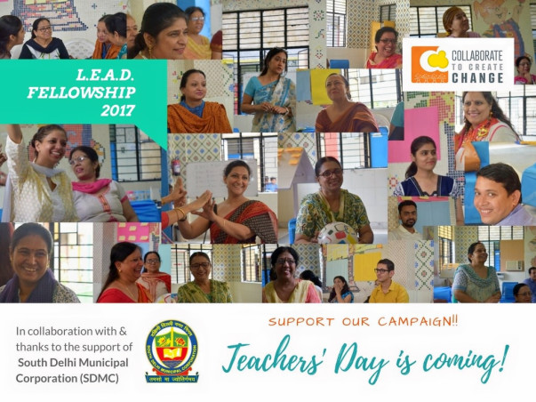 For Teachers' Day, support C3's L.E.A.D. Fellowship for teachers & HM!