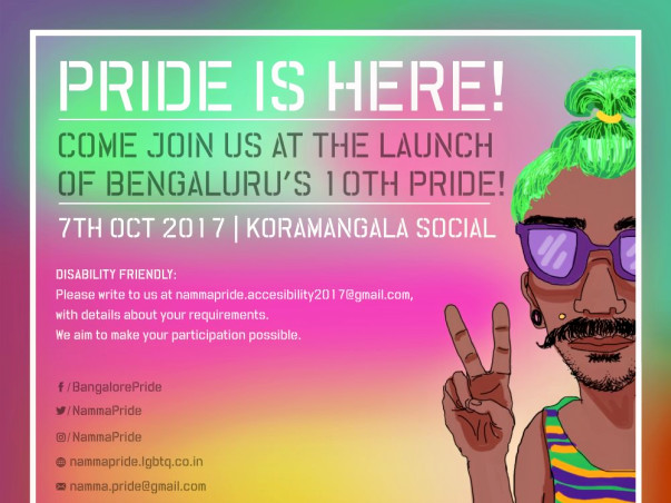 Stand With Us For Namma Pride And Karnataka Queer Habba 2017