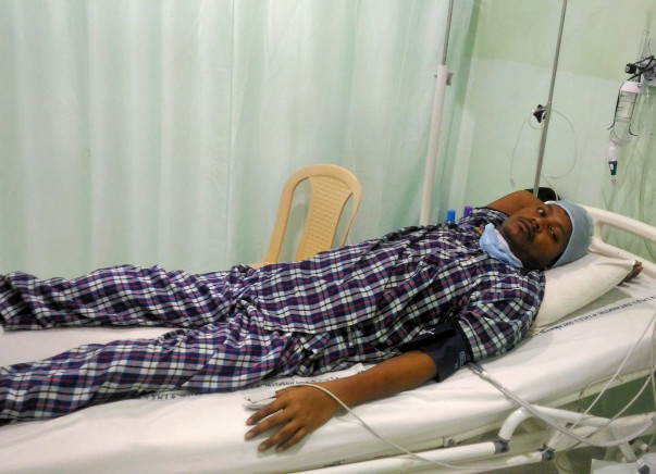 28-year-old Rajib has no means to fund a cure for Leukemia