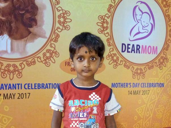Help baby Samprikto, my only child to fight blood cancer
