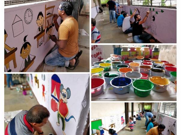 Coloring Schools Coloring Lives