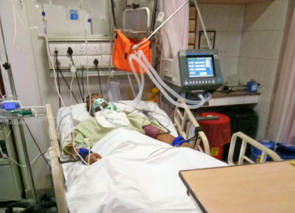 Help Vikas Fighting with his life In ICU
