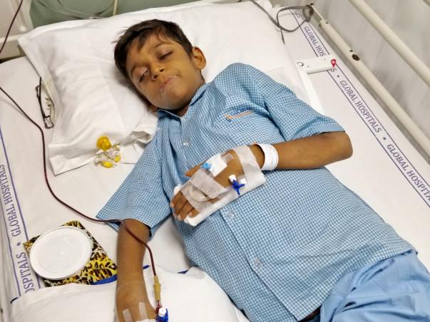 Help Krishiv Fight Liver Cirrhosis.