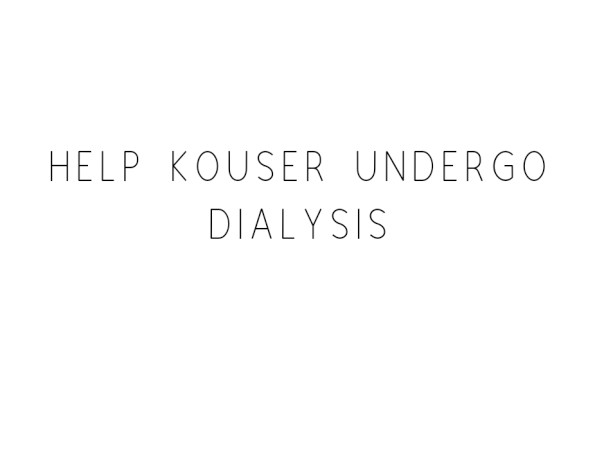 Help Kouser Undergo Dialysis