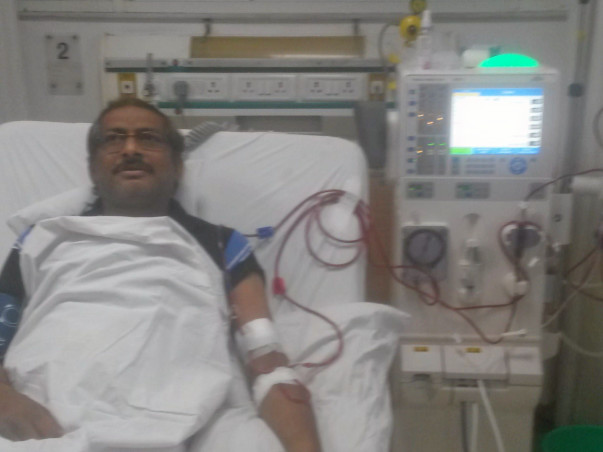 Support Sanjay kidney transplant  and treatment