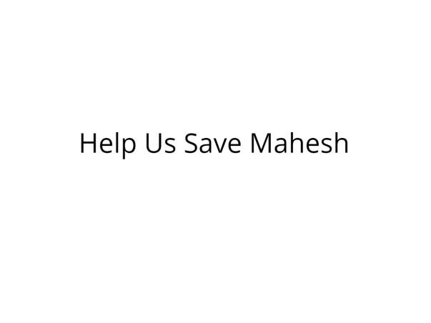 Help Mahesh Pandey Undergo Lung Transplant