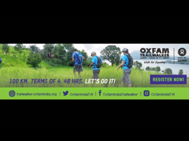 Oxfam Trailwalker- Walk for Equality
