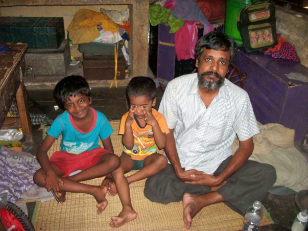 Help To Educate The Daughter Of Physically Handicapped Babu