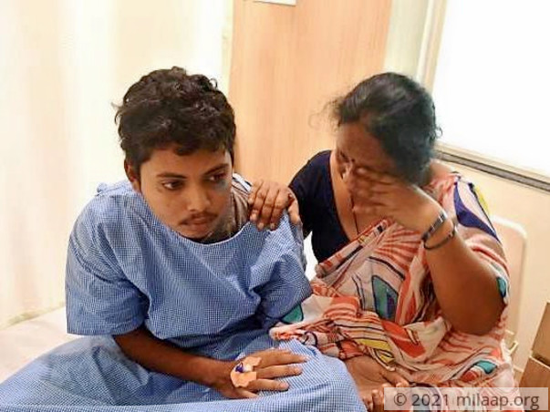 Pavan needs a bone marrow transplant to rid his cancer