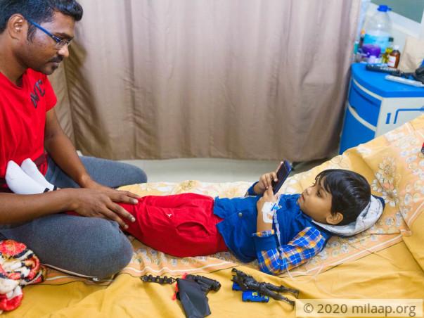 Help Mohammed Rahil Fight Acute B Lymphoblastic Leukemia