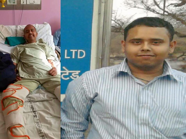 Help & Save Debashish From Paralysis and Kidney Failure