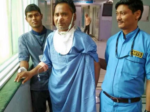 Help Ashwani Fight Throat Cancer