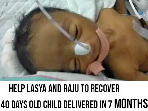 Help Lasya and Raju to survive their first child