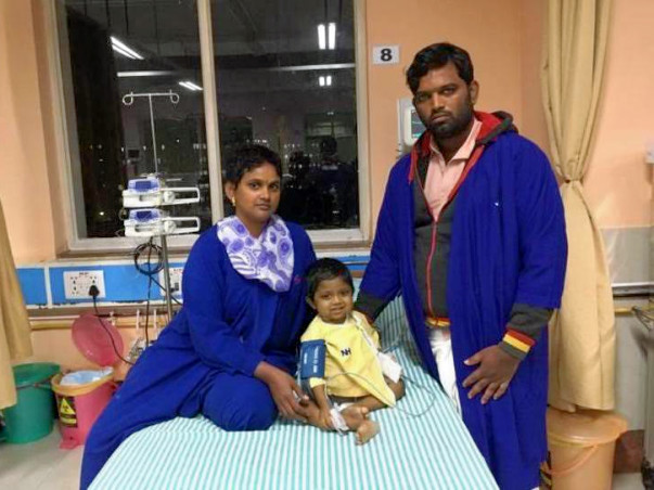 Rishikesh Needs A Liver Transplant But His Parents Cant Afford It