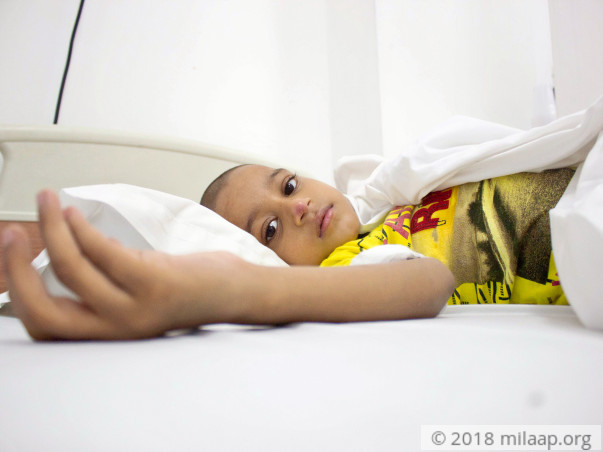 Auto Driver's 6-Year-Old Has Unbearable Stomach Pain From Cancer