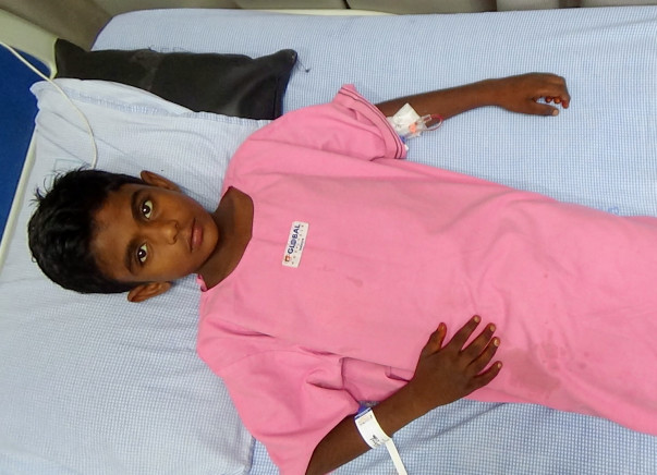 11-year-old Vishnu urgently needs a Liver Transplant