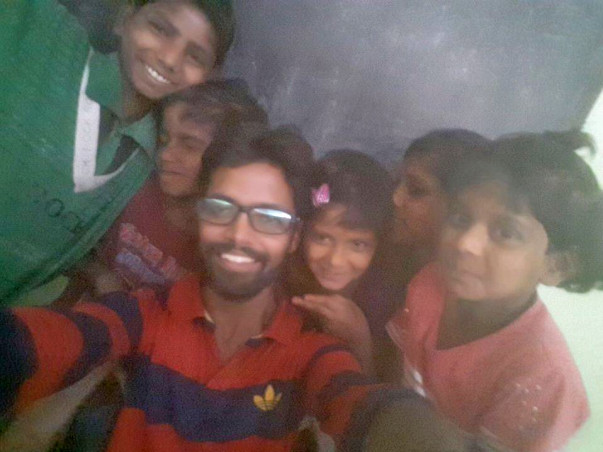 Help Gaurav Singh For Poverty Stricken Kids Free Education In Noida