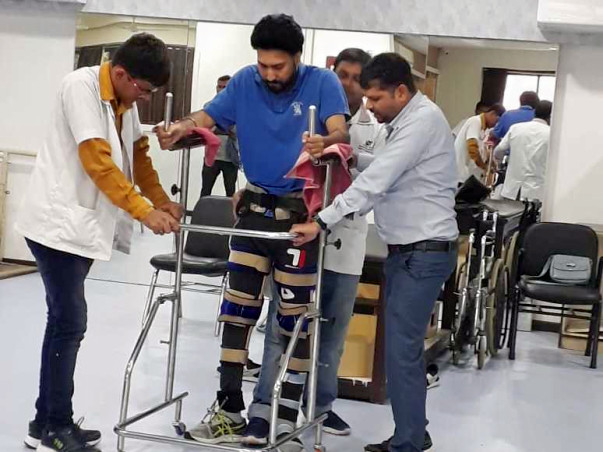 Help Avtar Spinal cord injuries c3 c4 c5🙏