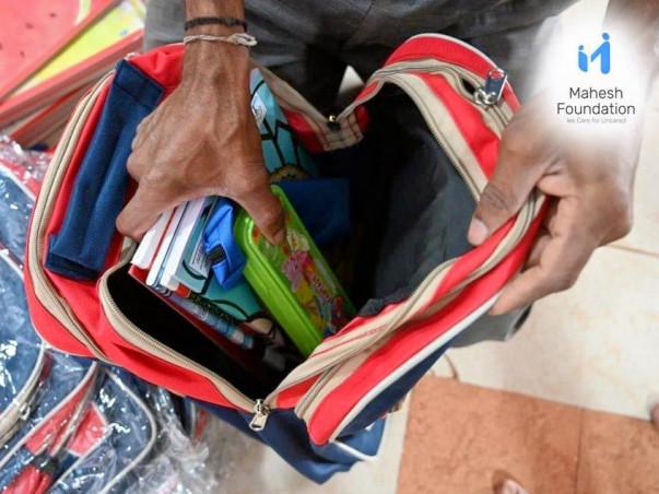 Help children - Who lost school stuff's into Flood