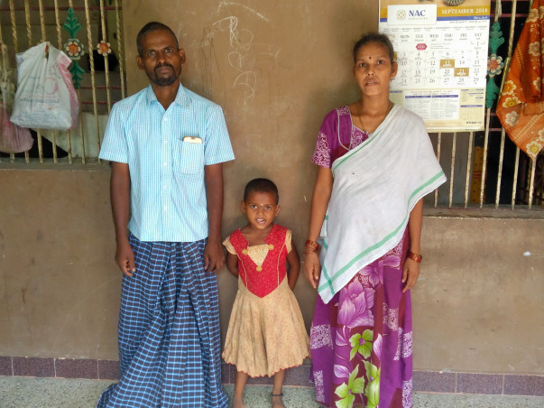 Help 4 year old Baby Jeevitha to get a Hearing Aid