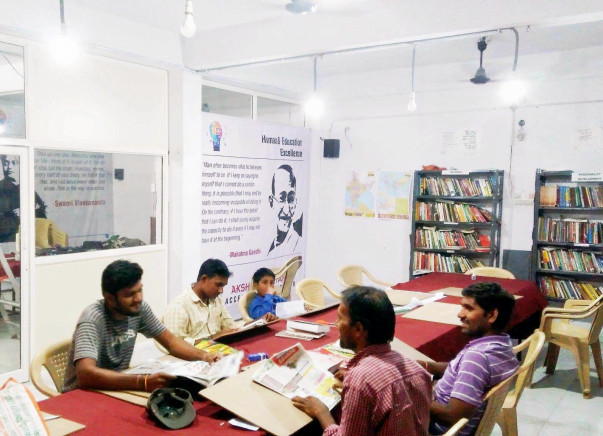 Support AKSHARACHITANYA LIBRARY-A center for Learning