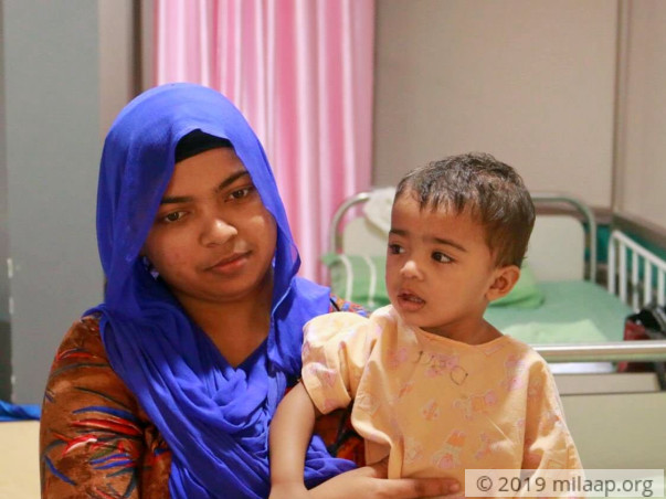 This baby girl needs a heart surgery to survive