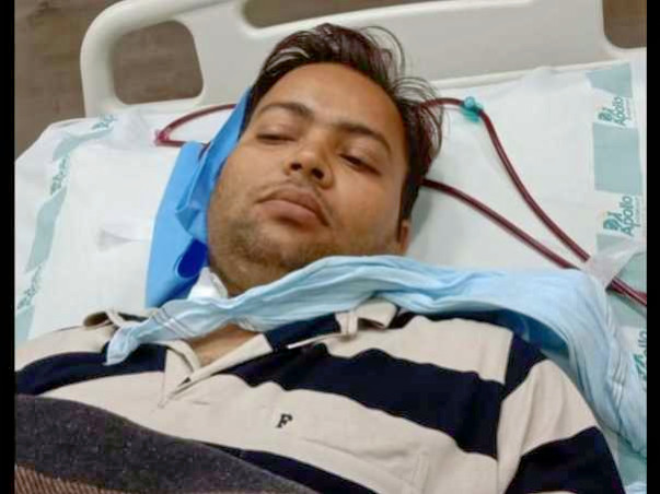 Support Abhishek Kumar Pandey To Recover!