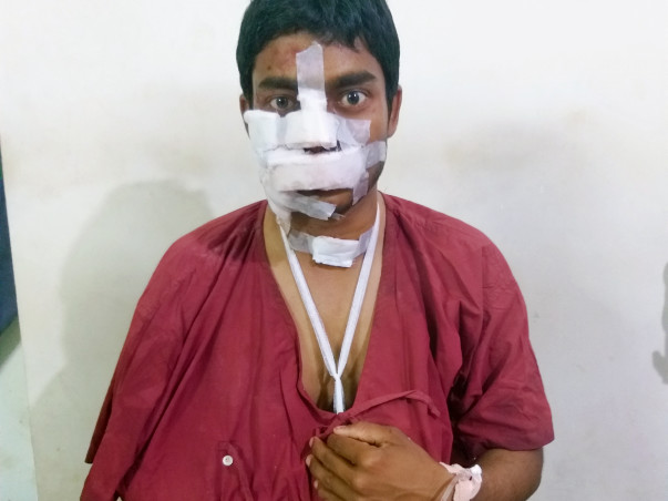 Help Ankush Recover From An Accident