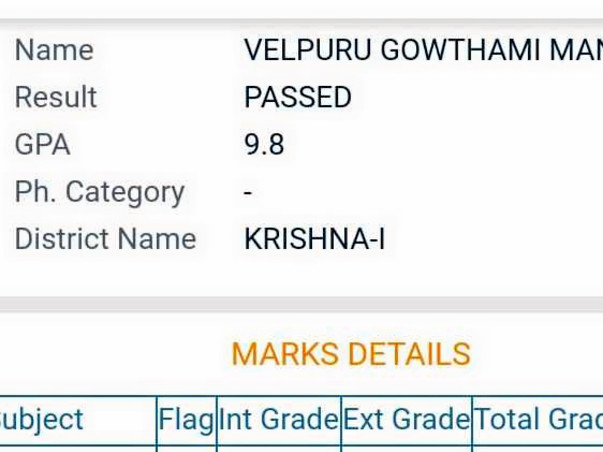 Help Gowthami Continue Her Education