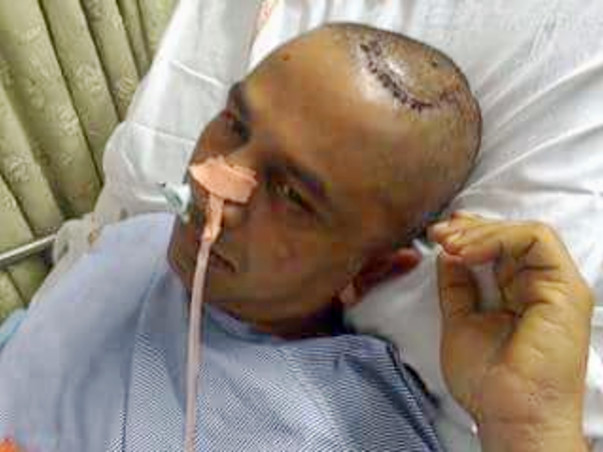 Shivaiah Bandari's Brain Stroke emergency Medical fund