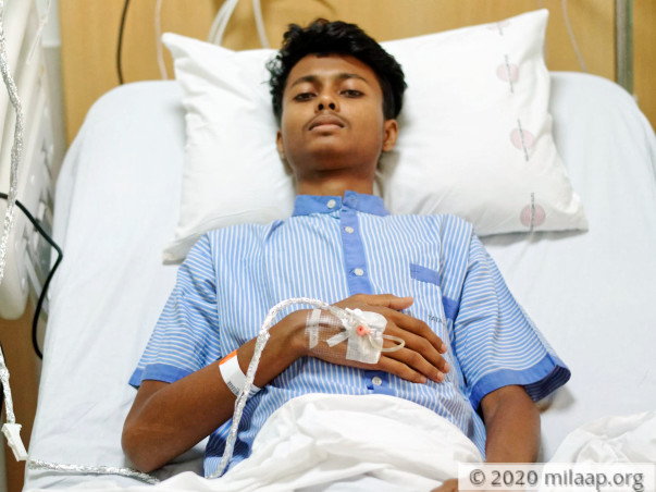 Help Aman Recover From T-cell Acute Lymphoblastic Leukaemia