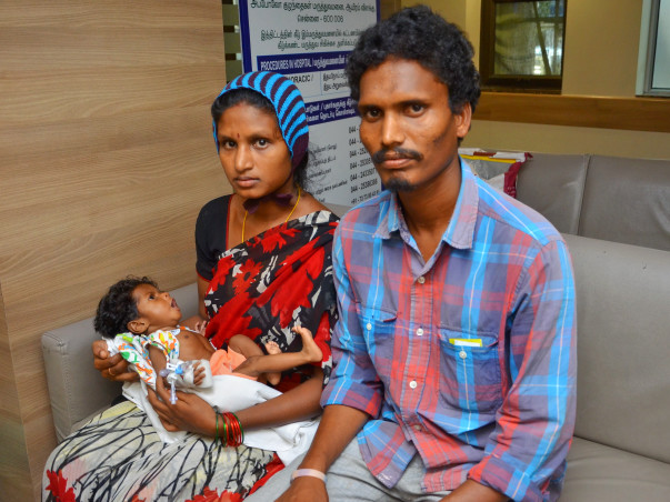 3-month-old Baby of Laxmi is Running Out of Time to Have a Surgery