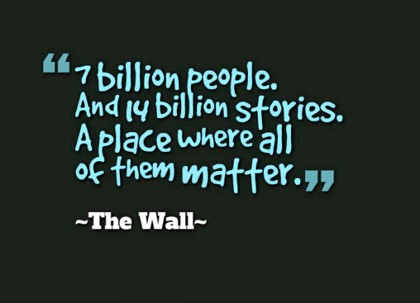 Help The Wall and Us Foundation remove loneliness from this world!