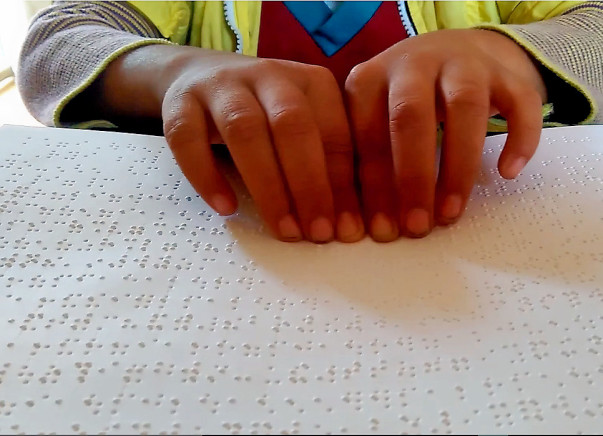 Donate for Braille Books - Help Blind children read!