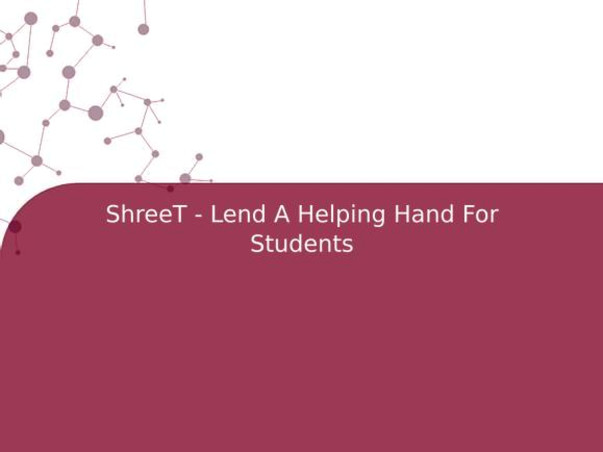 ShreeT - Lend A Helping Hand For Students