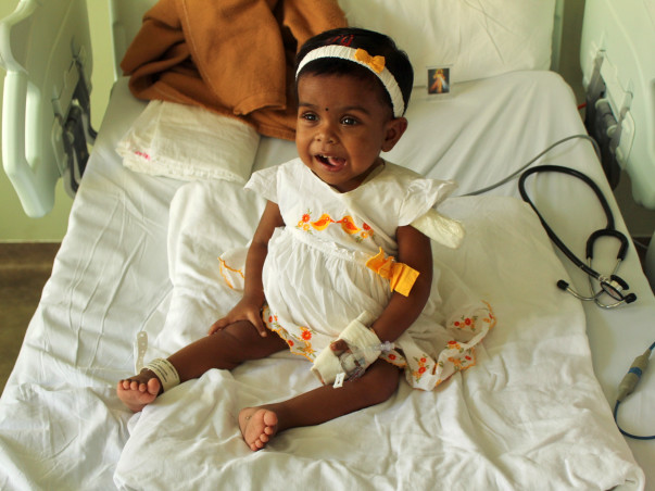 Help Baby Parvathy get a Kidney Transplant