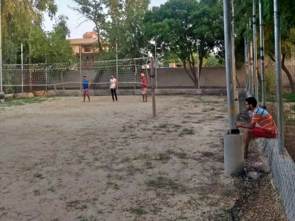 Help Us Rebuild The Volleyball Ground