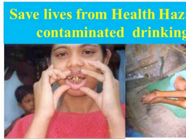 Save lives from contaminated water