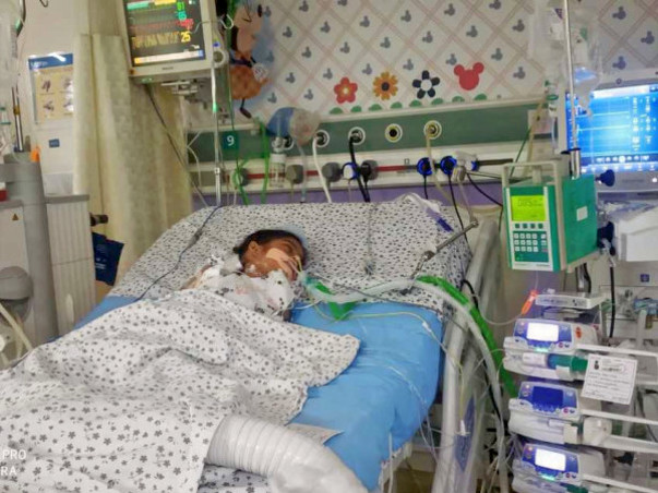 Help Baby Aaurshi Recover From Critical Genetic Disease