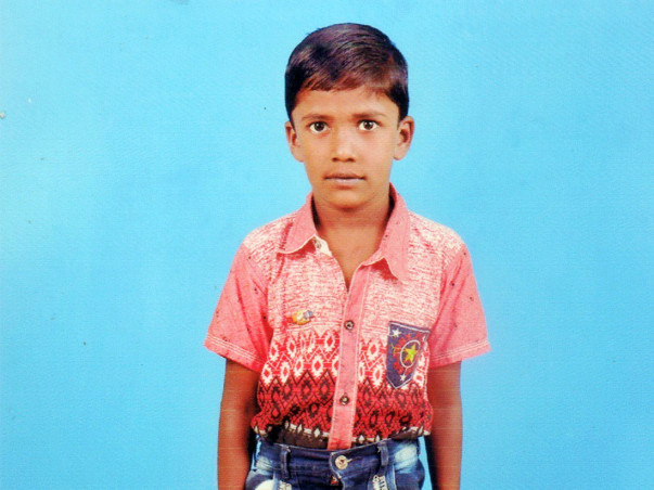 Help 7 year child kabilesh for Heart surgery