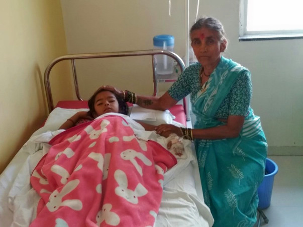 Help 5-Year-Old Nutan Suffering From Dengue