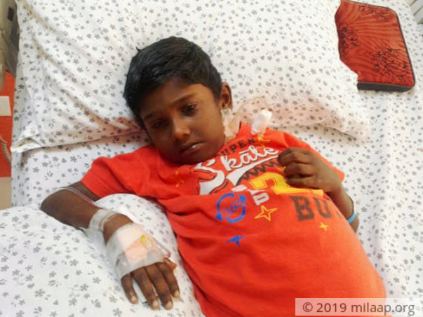 Help 7-year-old Akshay fight a severe liver disease