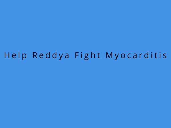 Help Reddya Fight Myocarditis