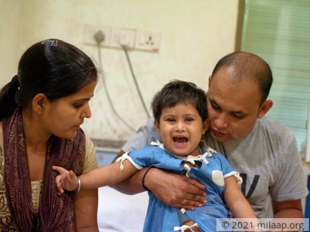 Help Shanaya Prakash Recover From Congenital Heart Disease