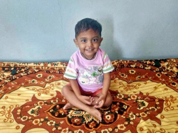Baby Riyansh Has Not Known Life Without Pain And Suffering
