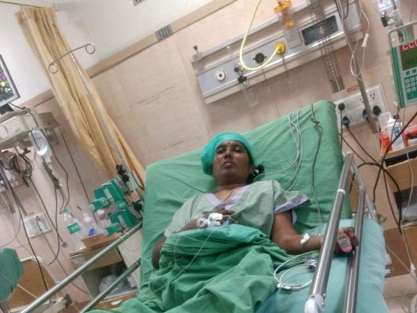 Please Help My Chithi Uma Maheshwari to recover from thrombosis