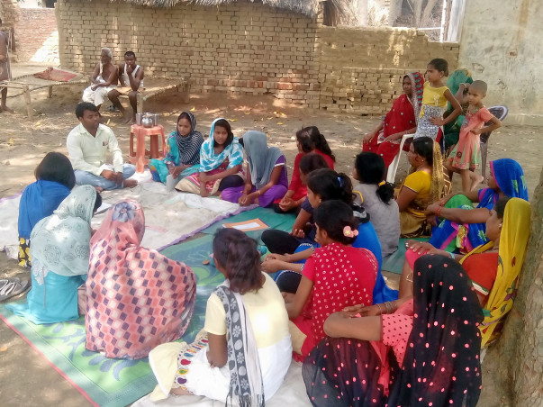 Creating Community Health Awareness for Pregnant And After Save Child
