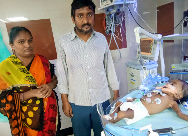 Nellore School Teacher Struggles To Save 5-Month-Old Daughter's Life